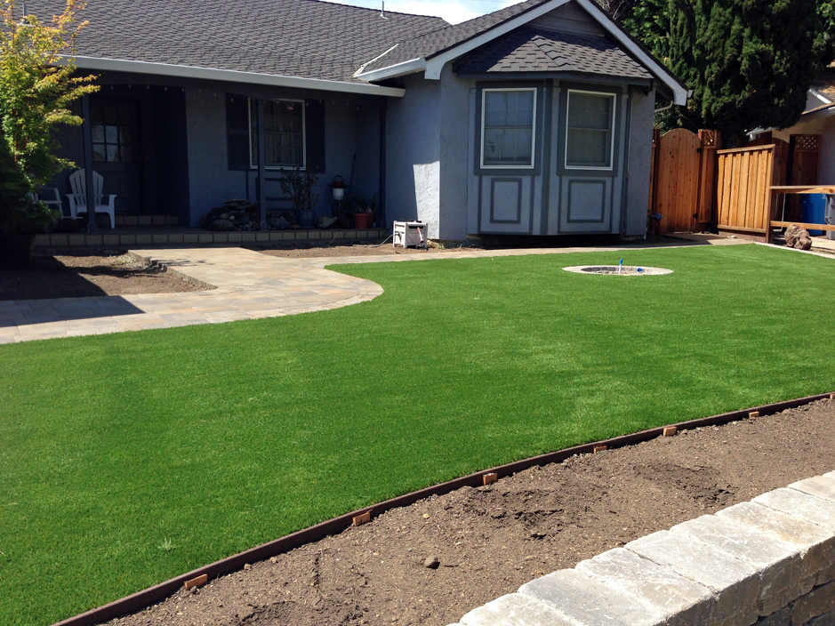 How To Install Artificial Grass Hollister California Landscape Rock Front Yard Landscaping