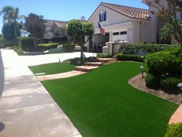 Artificial Grass Photos: Artificial Grass Installation Del Rey Oaks, California Backyard Deck Ideas, Small Front Yard Landscaping