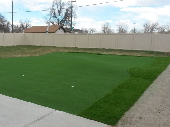 Fake Lawn Clarksburg, California Office Putting Green, Beautiful Backyards artificial grass