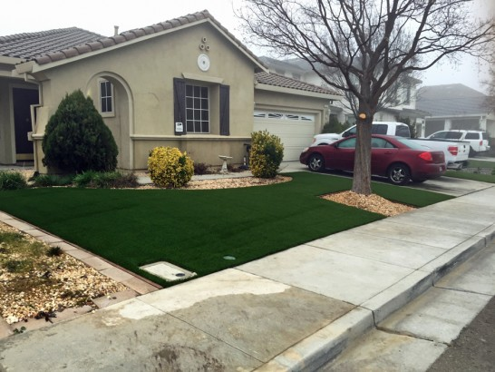 Faux Grass Atwater, California Lawn And Garden, Front Yard Landscaping Ideas artificial grass